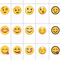 voir l'apparence des Emojis par plateforme-Comparaison emoji