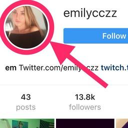 voir en haute résolution un avatar / photo profil instagram
