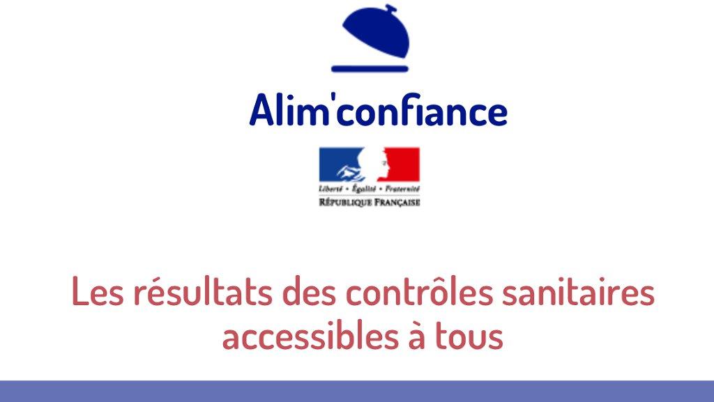 Allez sur alim-confiance.gouv.fr