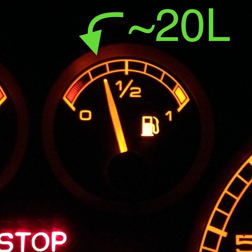 Ayez 20 litres d'essence