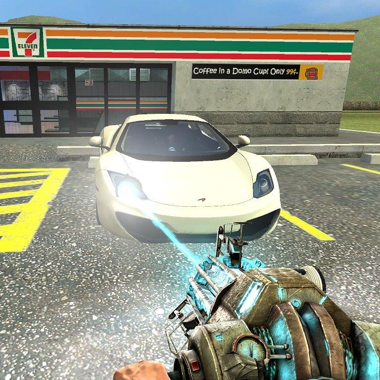 Mettez la lampe dans le devant de la voiture