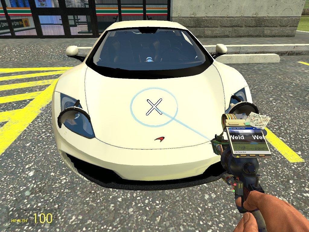 Click the car