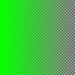 make a color to transparent gradient