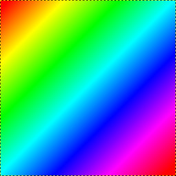 make a multi-color gradient (rainbow gradient)