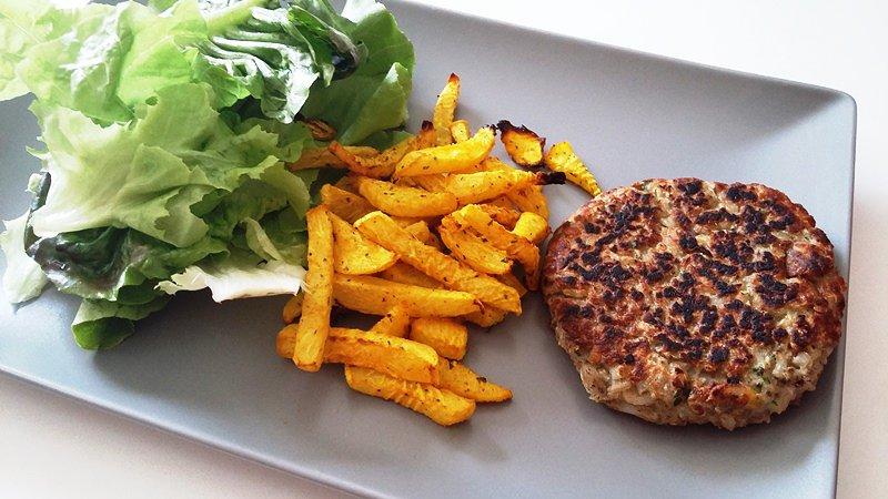Mangez des steaks de légumes