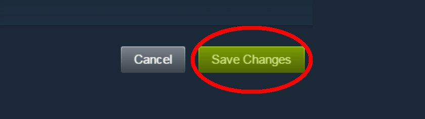 "Click ""Save Changes"""