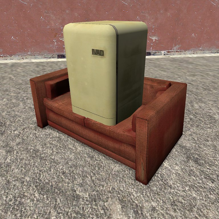 That's it! Now this object/prop can go through any other objects! You can do whatever you want with it, even putting it into a couch if you want :)