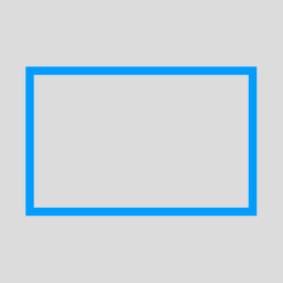 make a rectangle outline