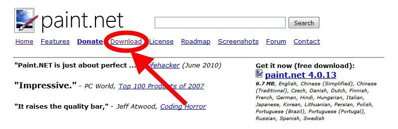 """Click """"Download"""""""